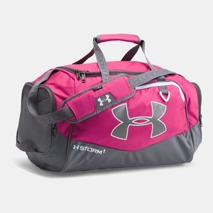 Under Armour Undeniable II Small Duffle, Pink